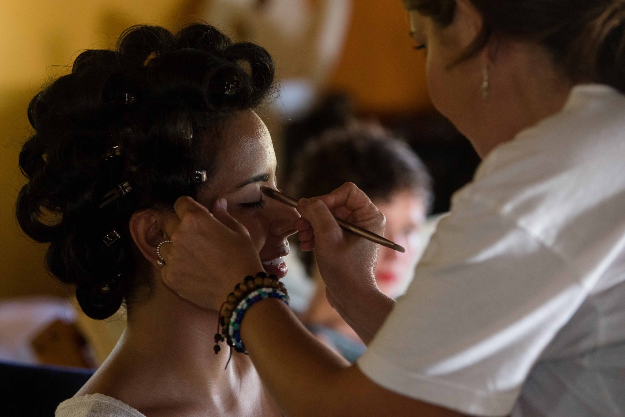 Bridal makeup in Culebra, PR